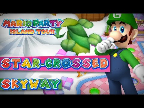Mario Party Island Tour Star Crossed Skyway 4 Player
