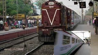 [HD] India's Frontier Railway INTERNATIONAL TRAIN : DHAKA Bangladesh - KOLKATA India MAITREE EXPRESS