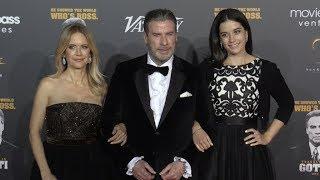Kelly Preston, John Travolta at Variety Cinema Icon Award in Cannes
