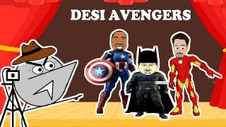 Desi Avengers Audition   Angry Director 4