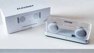 Elegiant I30 - crystal wireless speaker