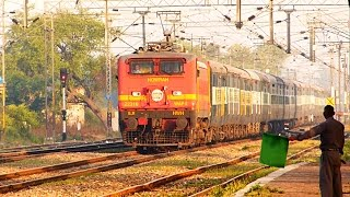 [IRFCA] Video#06 - Blood-Red WAP-4 with Durgiana Superfast Express