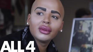 Man Spends £100,000 on Getting His Own Kim Kardashian Face | Make Me A Famous Face