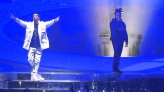 Drake  Headlines  Crew Love Feat The Weeknd Live