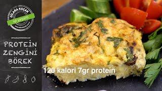 Protein Zengini Diyet Börek | Dilara Koçak | Afiyetle Diyet