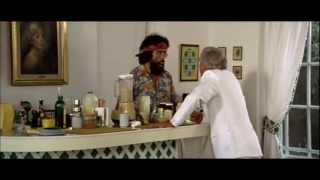 UP IN SMOKE  Strother Martin screams at Tommy Chong CLASSIC