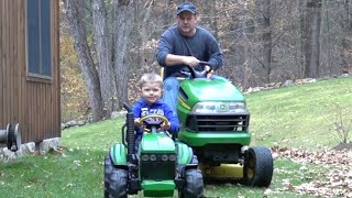 THE GREAT TRACTOR CHASE