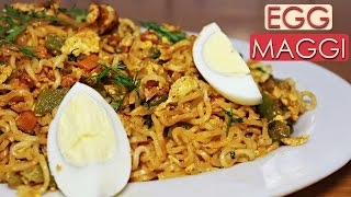 Egg Maggi Recipe | Easy and Quick Breakfast Recipe | Midnight Food Ideas | Kanak