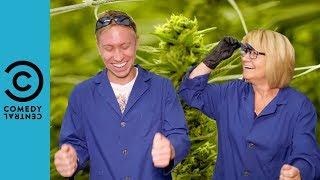 Russell And His Mum Visit A Cannabis Farm | Russell Howard And Mum