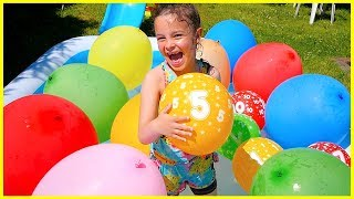 Kids Learn Numbers with Balloons Learn NUMBERS with Balloons for Children Toddlers Babies
