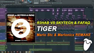 R3hab vs. Skytech & Fafaq - Tiger (Original Mix) (FL Studio Remake + FLP)