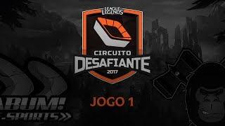 KaBuM e-Sports vs Ilha da Macacada Gaming - Jogo 1 - Circuito Desafiante: Segunda Etapa