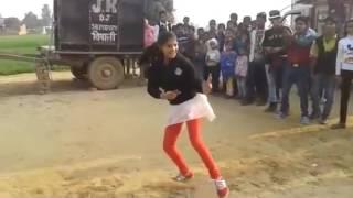 amazing dance by village girl