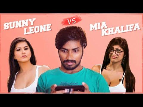 Xxx Mp4 Sunny Leone Vs Mia Khalifa Comedy Video Rey 420 3gp Sex