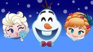 Olaf's Frozen Adventure As Told By Emoji   Disney