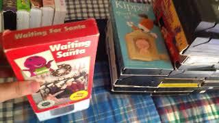 Barney's Waiting For Santa 1993 VHS