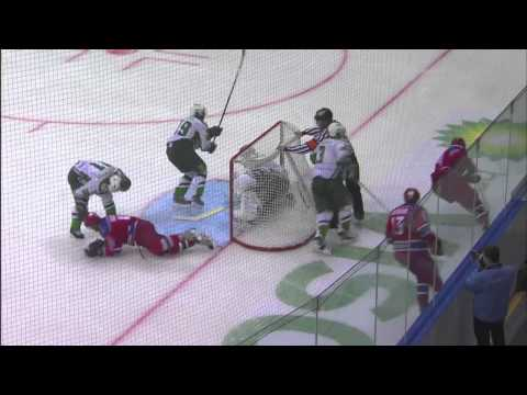 Salavat Yulaev 1, Red Army 4 (English Commentary)