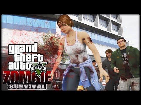 GTA 5 - ZOMBIE SURVIVAL #01 | INFIZIEFT - Deutsch - Grand Theft Auto 5 ZOMBIE MOD