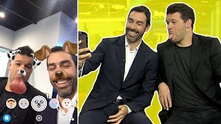 """""""Gary Neville used to kick me!"""" 