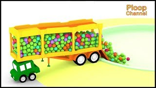 Cartoon Cars - CLEAN PARK! - Cartoons for Children - Childrens Animation Videos for kids
