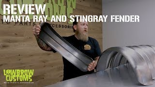 Manta Ray and Stingray Steel Motorcycle Fender Review