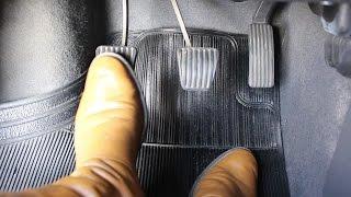 Como Não Deixar o Carro Morrer - Controle dos Pedais