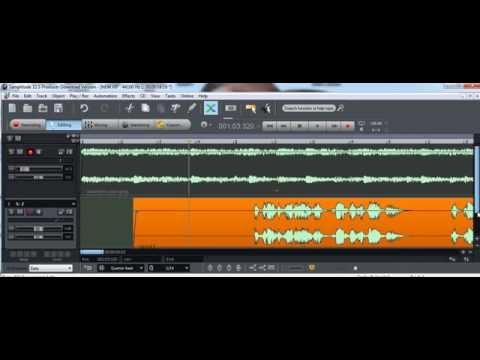 sound forge 9.o c/ samplitude 11.5