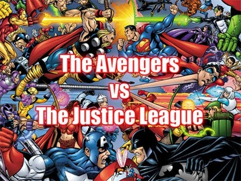 watch The Avengers vs The Justice League - Who Would Win?