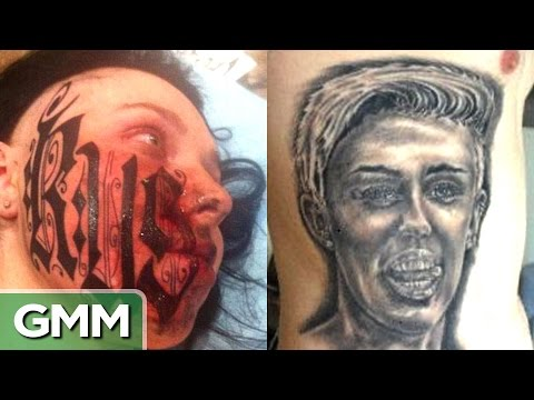 Top 5 Worst Tattoos Love Edition RANKED