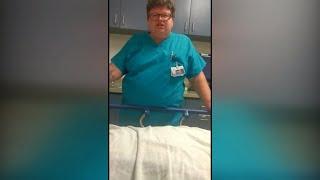 "ER doctor suspended after mocking patient: ""Are you dead, sir?"""