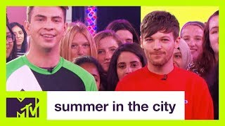 Louis Tomlinson Shows Off His Soccer Skills | Summer in the City | MTV