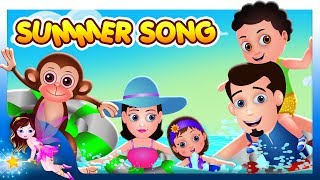 😎  Summer Song 🍀    Nursery Rhymes & English Songs For Children   By TinyDreams 😎