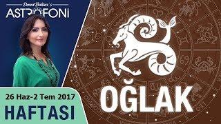 Oğlak Burcu Haftalık Astroloji Burç Yorumu 26 Haziran-2 Temmuz 2017
