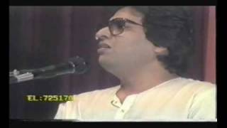 Talat Aziz  Live -Ajab Apna Haal Hota- with Ustad Satar Tari Khan and Ustad Sultan Khan Dubai 1987