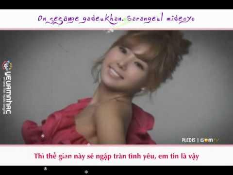 [R+Vietsub YANST] Love Love Love (Version 2) - After School [YANST Winter Gift 2010]