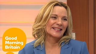 Kim Cattrall Leaves Piers Morgan Besotted! | Good Morning Britain