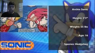 Luigi GX react sonic vs the flash cartoon fight club
