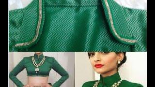 collar wala blouse drafting, cutting and stitching DIY