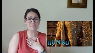 Dumbo Official Teaser Trailer #1 (REACTION)