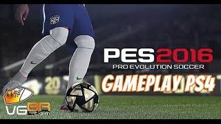 PES 2016 Gameplay Inter Milan x AC Milan PS4 1080p 60 FPS