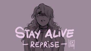 STAY ALIVE REPRISE // Hamilton Animatic