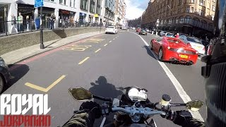GoPro 5 on a BMW S1000Rs