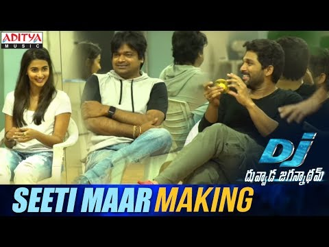 Xxx Mp4 Seeti Maar Song Making DJ Song Promos Allu Arjun Pooja Hegde Harish Shankar DSP 3gp Sex