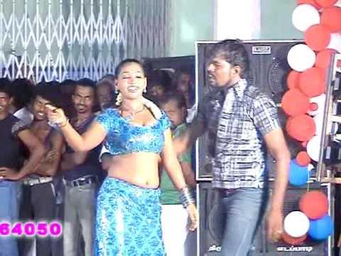Adal Padal Hot-3 New Village Public Midnight Tamil Record Dance -2016