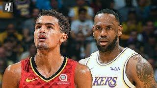 Atlanta Hawks vs Los Angeles Lakers - Full Game Highlights | November 17, 2019 | 2019-20 NBA Season