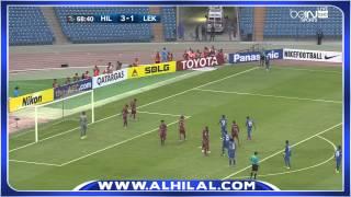 ملخص مباراة الهلال ولخويا القطري 4-1 - دوري أبطال اسيا ذهاب د8