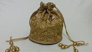 How To Make Batua (potli bag )