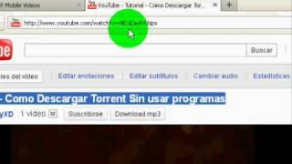 Tutorial - Como Descargar Videos de Youtube En Formato .3gp