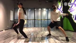 [Dance practice] HUMBLE - Dương Dương và Lưu Diệc Phi nhảy Hip hop