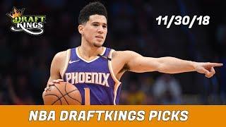 11/30/18 NBA DraftKings Picks - Money Six